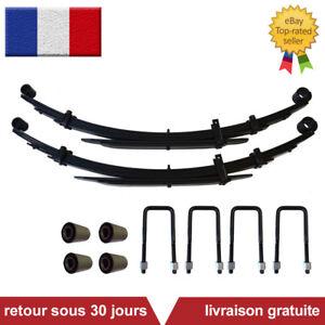 Mitsubishi L200 Arriere Ressorts (4+2) MR448147 MR267745 (Paire) +4 Boulon