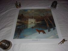 "REFLECTIONS OF WALKER'S MILL by Shawn Faust - Image Size 19""x19"" Signed 226/600"