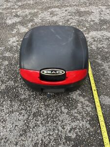 Shad sh25 motorcycle Top Box Back Helmet Moped Luggage Scooter 50 125 200 250