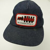 N&W Horizontal Boring Patch Made in USA Snapback Adult Cap Hat