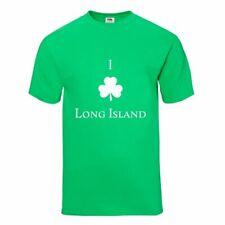 """I Shamrock Long Island"" Ny St. Patrick's Day New York Irish Souvenir T-Shirt"