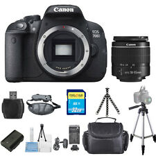 Canon EOS 700D / T5i with 18-55mm III 18MP STARTER BUNDLE! Brand New!!