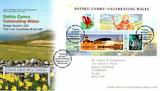26 FEBRUARY 2009 CELEBRATING WALES MINIATURE SHEET RM FIRST DAY COVER St DAVIDS