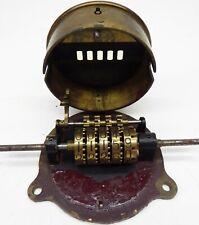 Zähler Counter Rechenmaschine calculator Rechner Historischer Industrie- Zähler