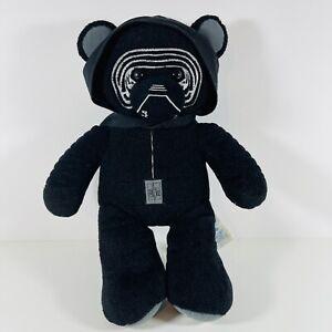 "Build a Bear Workshop Star Wars Force Awakens Kylo Ren Plush Stuffed Animal 17"""