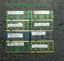 Marken Arbeitsspeicher RAM Laptop Notebook S0DIMM SODIMM DDR2 1x 2Gb 2x 2Gb 4Gb