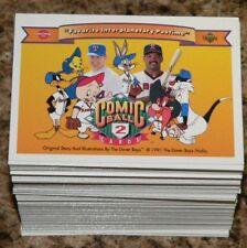 Comic Ball Series 2 by Upper Deck in 1991. Complete 198 Card set. NM/Mint