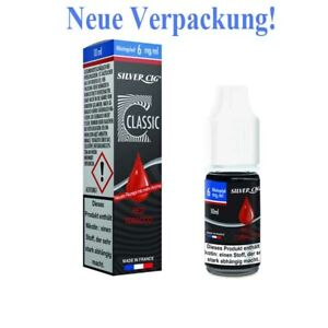 E-Liquid Silver CiG RED Tobacco Flasche 10 ml