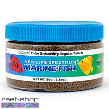 New Life Spectrum MARINE FISH Pellets 80g Saltwater Fish Food Free USA Shipping