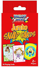 JUMBO SNAP PLAYING CARDS GAMES - Children's 36 CARDS - WH2 - R6C 179 - NEW PACK