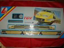 COFFRET TGV LA POSTE LIMA 107062 T 5 ELEMENTS HO TRAIN ELECTRIQUE
