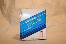 Tokina SMZ 370 F3.5-4.8 35-70MM Macro 1:5 Lens For Olympus O/OM - Vintage