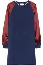 [Jil Sander] Blue Cashmere Silence Satin Sweater Dress FR40 / Knitwear / NWT