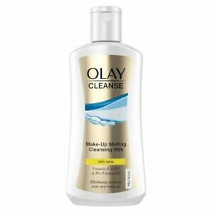 Olay Cleanse Make-Up Melting Cleansing Milk Effortless Remover, Dry Skin - 200ml