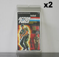 2 x Protective Cases For MOC Vintage Action Force Taller Carded Figures