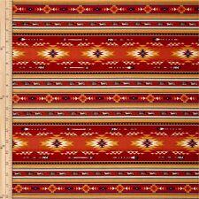ARROWS Fabric Fat Quarter Cotton Craft Quilting Native Spirit FEATHERS