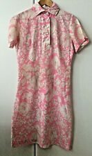 50s/60s Vintage Kenrose Ireland Floral Shirt Dress Flower Power Summer Dress