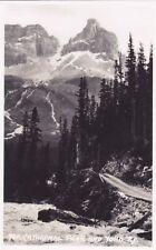 Yoho Road Cathedral Peak British Columbia Canada Harmon Real Photo Postcard 730