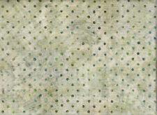 """Patchworkstoff - Robert Kaufman - Batic - """"Punkte"""" - Grün - Breite 110cm"""
