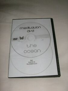 MEDITATION-RELAXATION DVD TWO DISC PACK DISC 1 THE OCEAN DISC 2 WAVES WATERFALLS