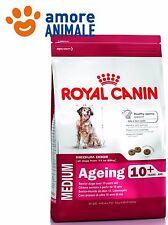 Royal Canin Medium Ageing 10 anni - Confezione 15 kg - crocchette per cane cani