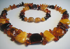 Genuine Baltic Amber Necklace 14 g. !!!