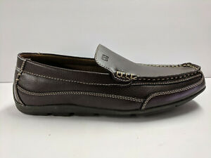 Tommy Hilfiger Dathan Driver Loafers, Brown, Mens 7.5 M