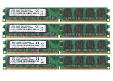 Lot Memory 8GB (4pcs 2GB) 2Rx8 PC2-6400U DDR2 800Mhz 240PIN CL6 DIMM Desktop RAM