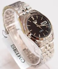 SEIKO 5 SNK361K1 Stainless Steel Band Automatic Men's Black Watch New & Gift