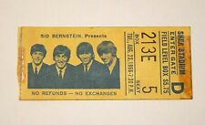 Authentic BEATLES Ticket Stub from Shea Stadium, New York, August 23, 1966