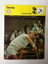 CARTE EDITIONS RENCONTRE 1978 / TENNIS - LEWIS HOAD
