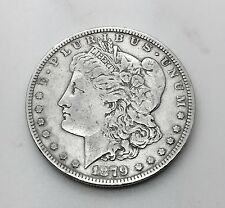 1879-S US Morgan Silver Dollar Coin $1 One Dollar Circulated