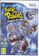 Nintendo Wii «RAVING RABBIDS ~ TRAVEL IN TIME» nuovo sigillato italiano pal