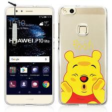 "Coque Etui Housse Silicone TPU Ultra-Fine Winnie the Pooh Huawei P10 Lite 5.2"""