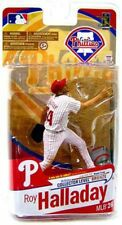 MLB Sports Picks Series 26 Roy Halladay Exclusive Action Figure [White Jersey]