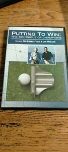Putting To Win: The Technique of Champions DVD with Ian Baker Finch & Jim McLean