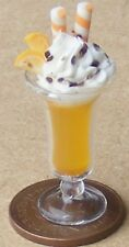 1:12 Scale Orange Ice Cream Sundae Tumdee Dolls House Dessert Food Accessory i54