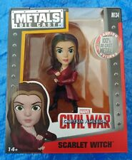 2016 Metals Die Cast: SCARLET WITCH! Captain America: Civil War, 4inch, #M134