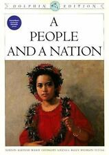 A People and a Nation: A History of the United States, Dolphin Edition -