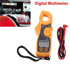 Digital Lcd Clamp Multimeter Ac Dc Voltmeter Ammeter Ohmmeter Tester Volt