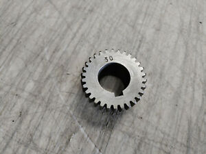 """Jet 9"""" Metal Lathe Head Stock 30T 30 Tooth Gear 3/4"""" Bore 1.56"""" Dia. .78"""" Thick"""