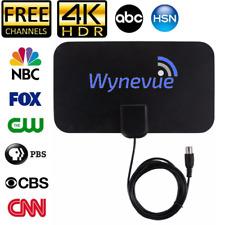 Wynevue Midtown HDTV Antenna Indoor Digital TV Antenna, 50 Miles Range