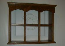 "Handmade Wood Wall Shelf or Free Standing/2 Shelves/19"" W x 15.5"" H x 6"" D"