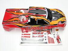NEW TRAXXAS T-MAXX 2.5 Body ProGrapix Red RW5R