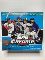 2020 Topps Chrome Update Series Baseball Mega Box Robert Acuna Trout