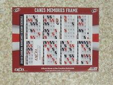 2013-14 Carolina Hurricanes (National Hockey League) team magnet schedule