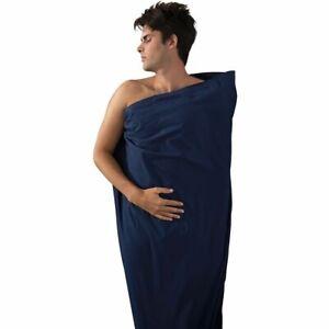 Sea To Summit Premium 100% Cotton Sleeping Bag Liner - Mummy Navy