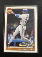 1991 Topps 40 Years of Baseball Ken Griffey Jr # 790 ... Mariners