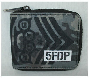 5FDP Five Finger Death Punch Camo Nylon Wallet NEW and OFFICIAL