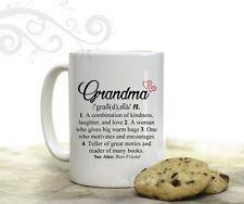 Grandma Dictionary Definition Coffee Mug Gift 15 oz Coffee Cup from Grandkids